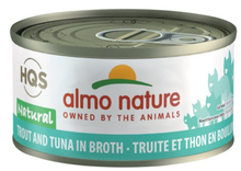 Load image into Gallery viewer, HQS Natural - Trout and Tuna in broth (70g)