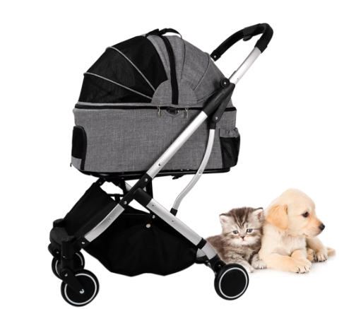 Detachable Pet Stroller: 2-in-1 - Available Spring 2021 - Perfetto Peterbald