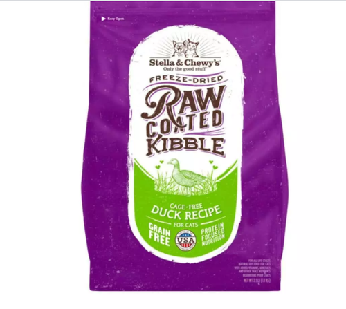 Raw Coated Kibble - Duck - Perfetto Peterbald