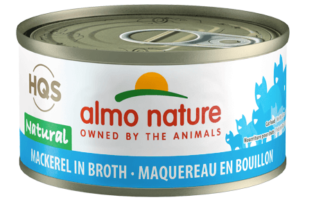 HQS Natural Mackerel in Broth 70g - Perfetto Peterbald