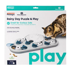 Rainy Day Puzzle & Play Cat Game - Perfetto Peterbald