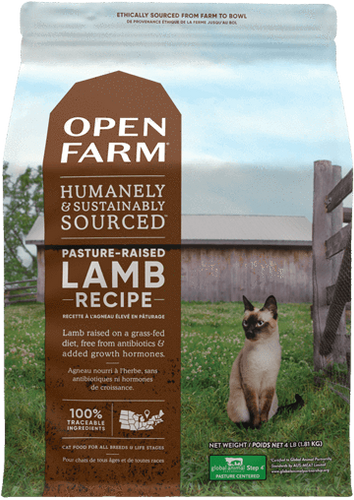 Lamb raised on pasture kibble (8 lbs) - Perfetto Peterbald