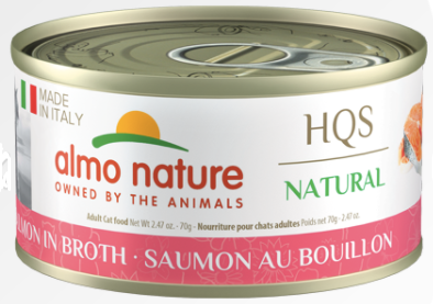 Made in Italy - Salmon in Broth (70g) - Perfetto Peterbald