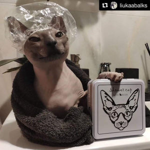 Shower Cap - FREE with a purchase of any Kotomoda Product - Perfetto Peterbald