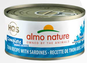 HQS Complete - Tuna with Sardines in Gravy (70g)