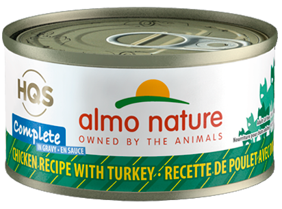 HQS Complete Chicken with Turkey in Gravy 70g - Perfetto Peterbald