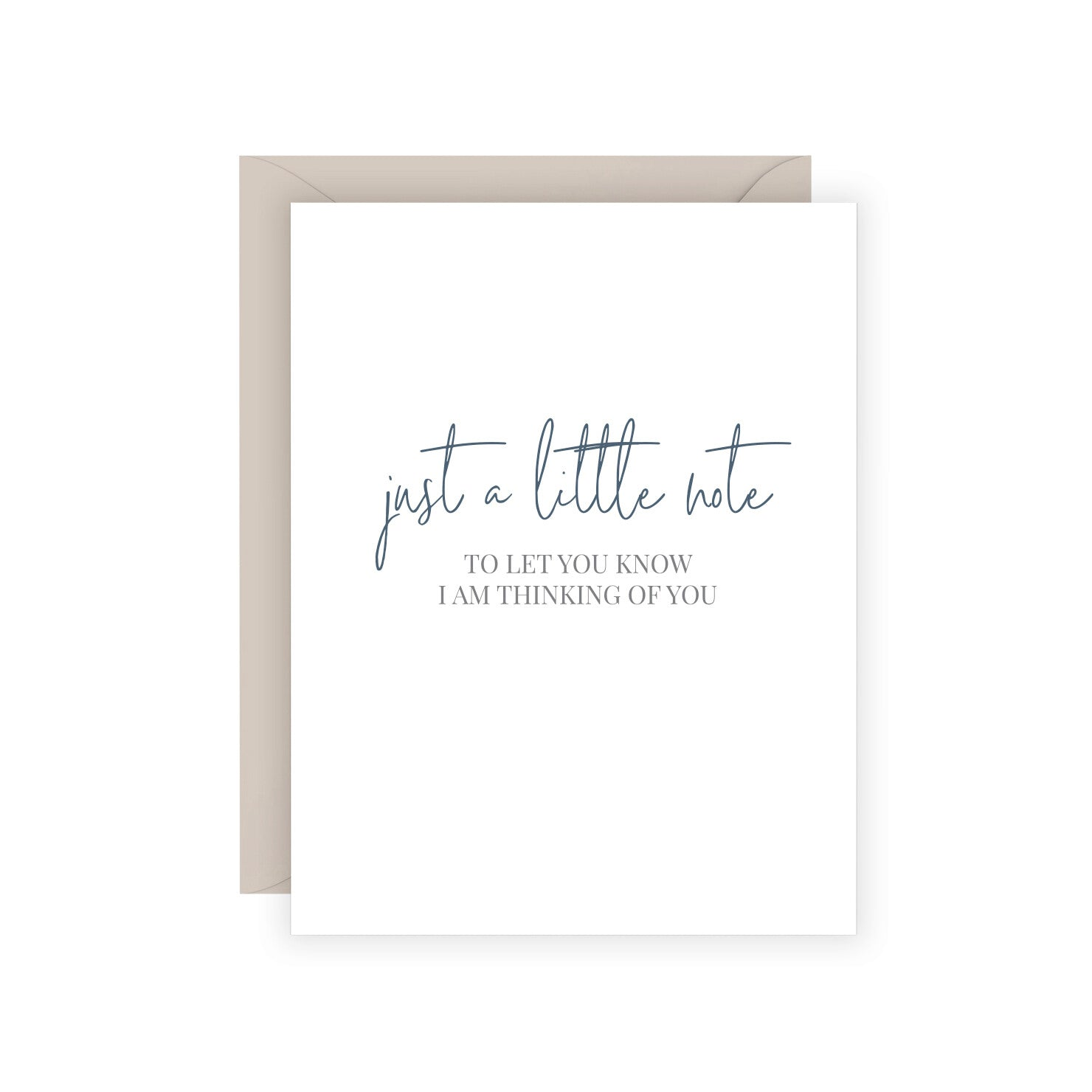 A Little Note Greeting Card