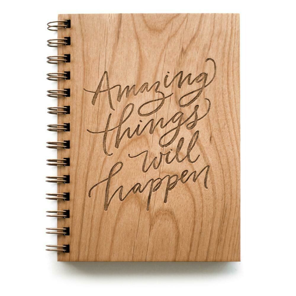 Amazing Things Will Happen Journal