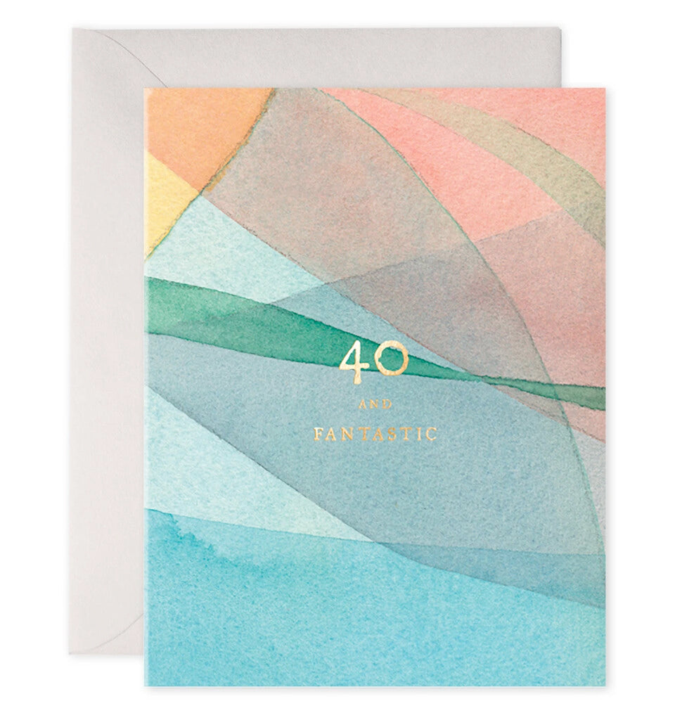 40 Birthday Greeting Card