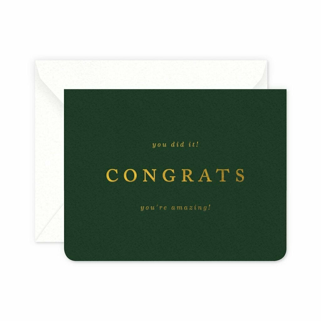 Amazing Congrats Greeting Card