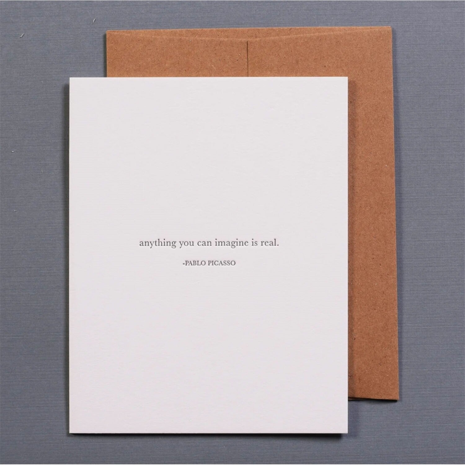 Anything You Can Imagine Greeting Card