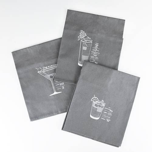 Bar Cart Cocktail Towels