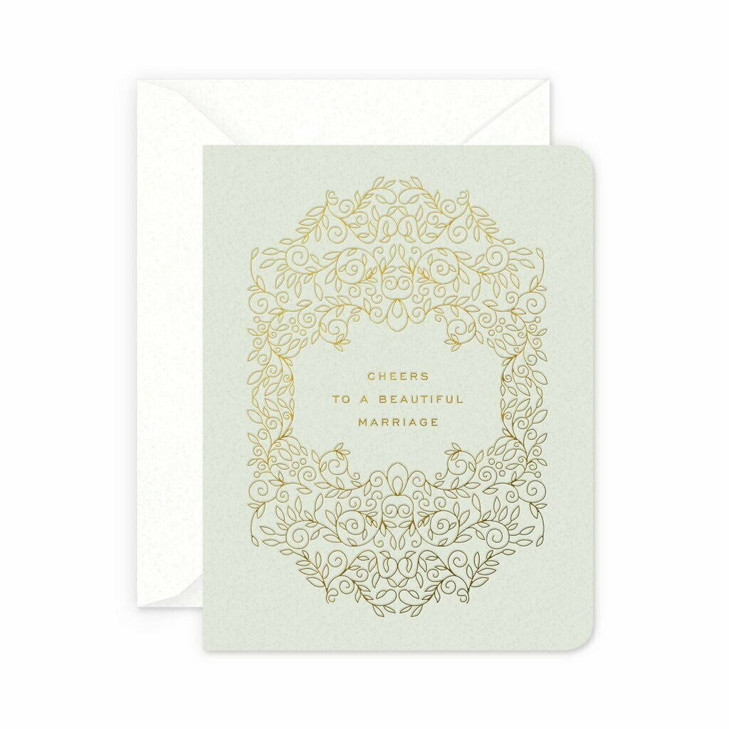 Beautiful Marriage Greeting Card