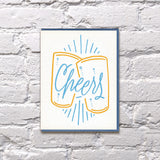 Beers Cheers Greeting Card