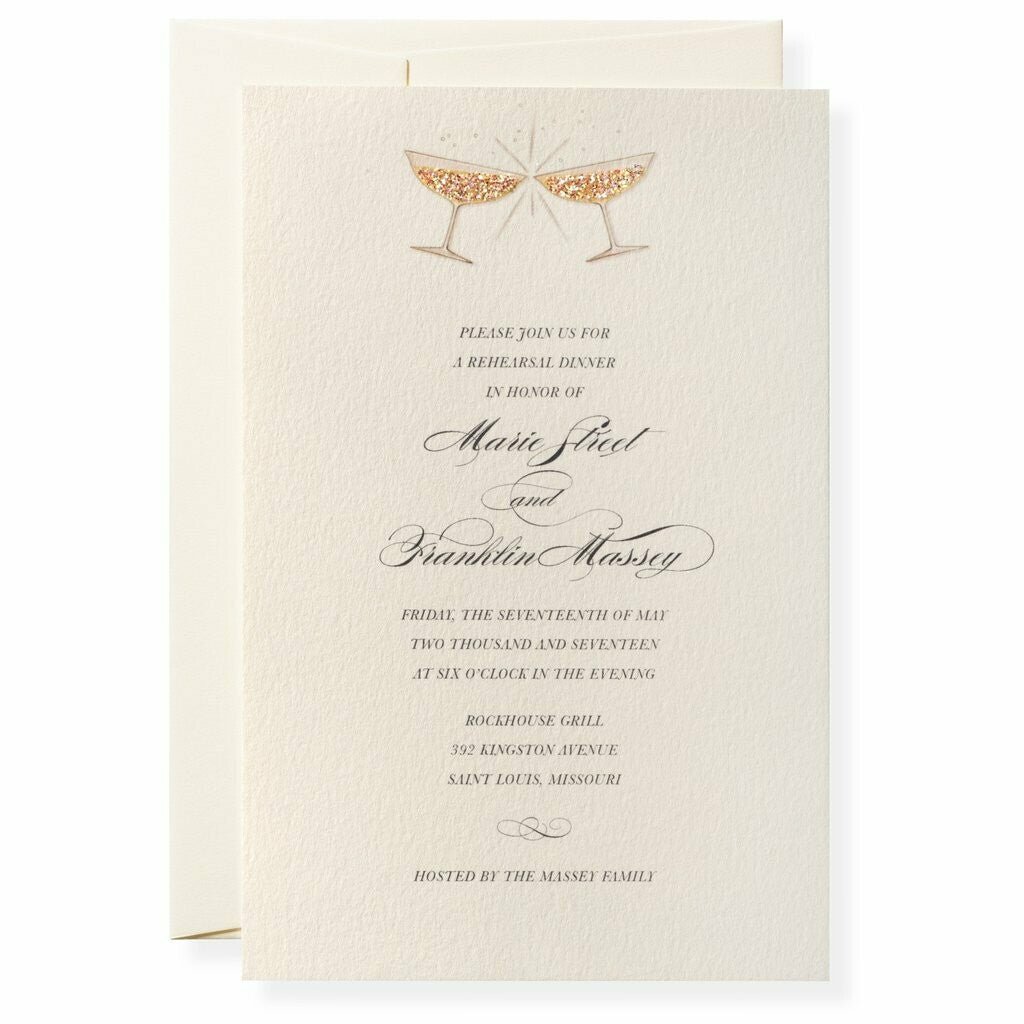 Boxed Invitations - Coupe