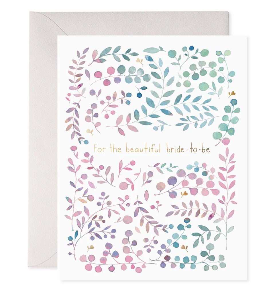 Bride To Be Greeting Card