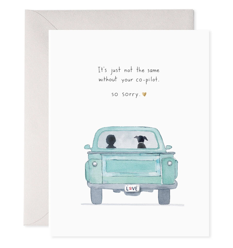Copilot Dog Greeting Card