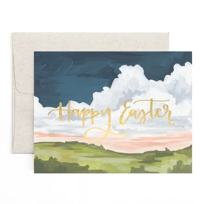 Easter Landscape Card