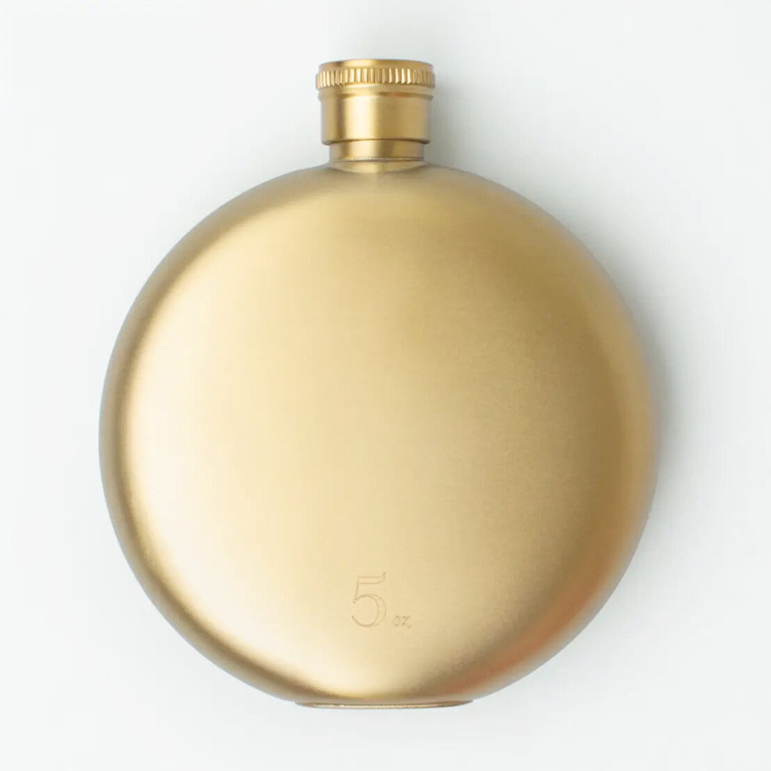 Gold 5 oz Flask