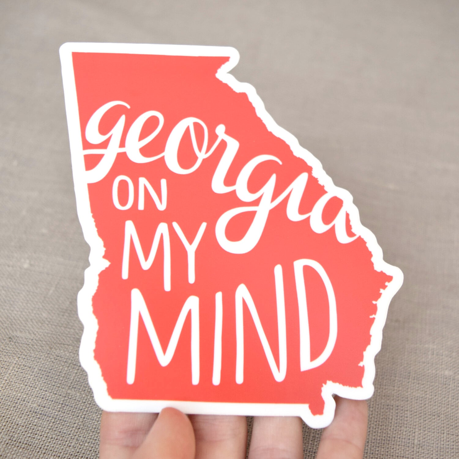 Georgia On My Mind Decals