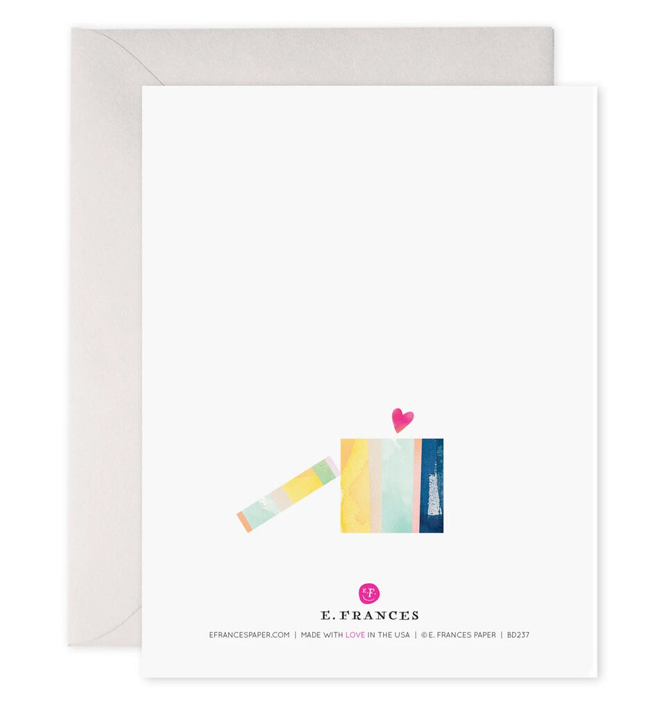 Giftwrapped Greeting Card