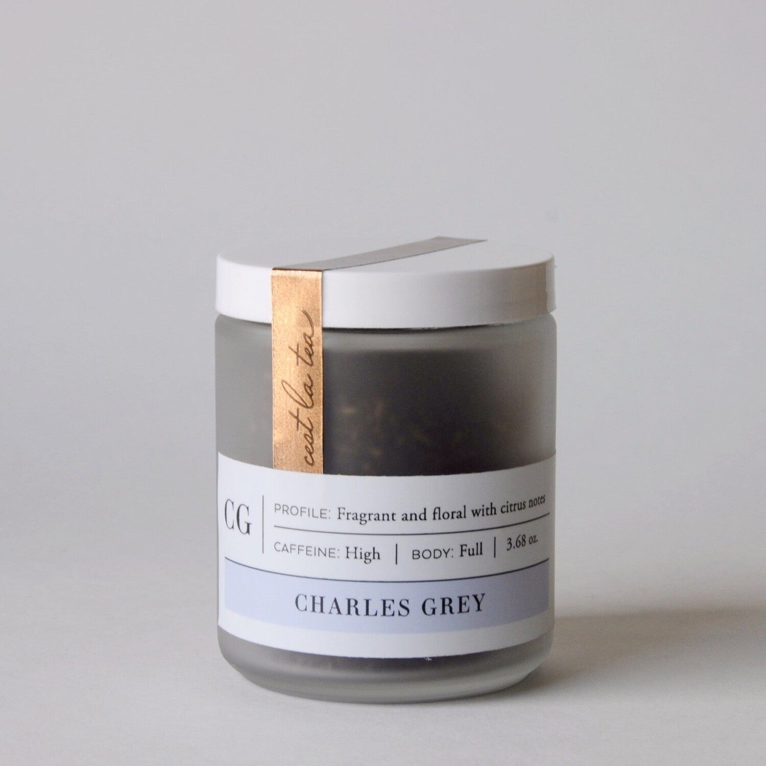 Charles Grey Tea Jar