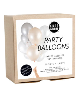 Party Balloons: Blush Copper