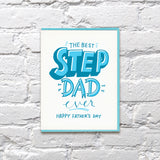 Step Dad Greeting Card