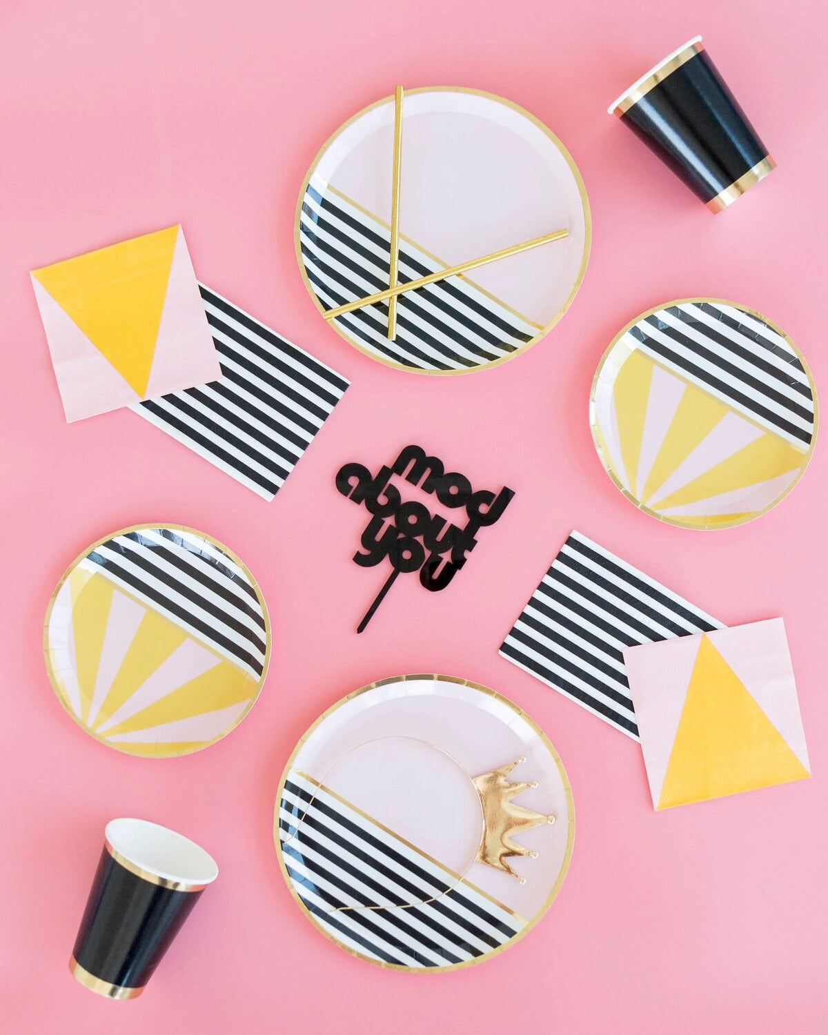 Mod About You, Dessert Plates