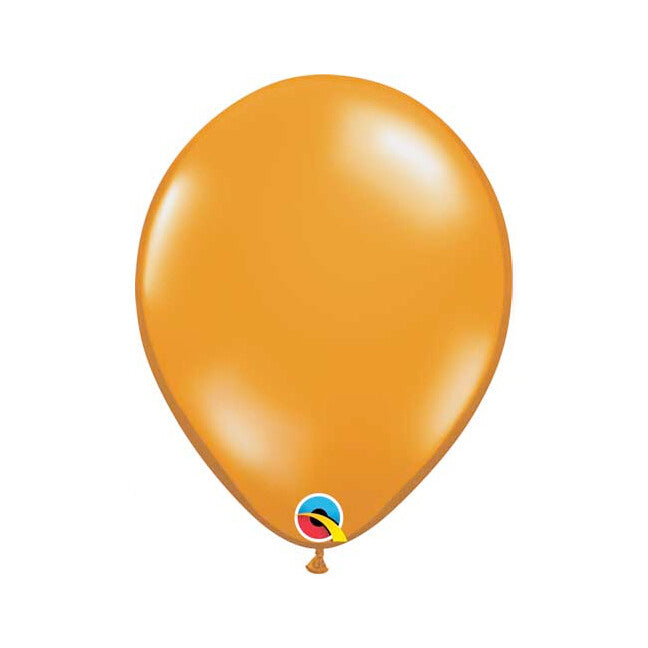 Jewel Mandarin Orange Balloon, 11""