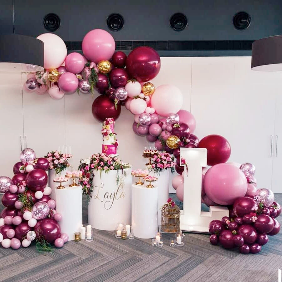 Jewel Magenta Balloon, 11""