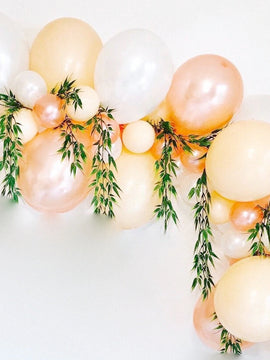 Metallic Rose Gold Balloon, 30