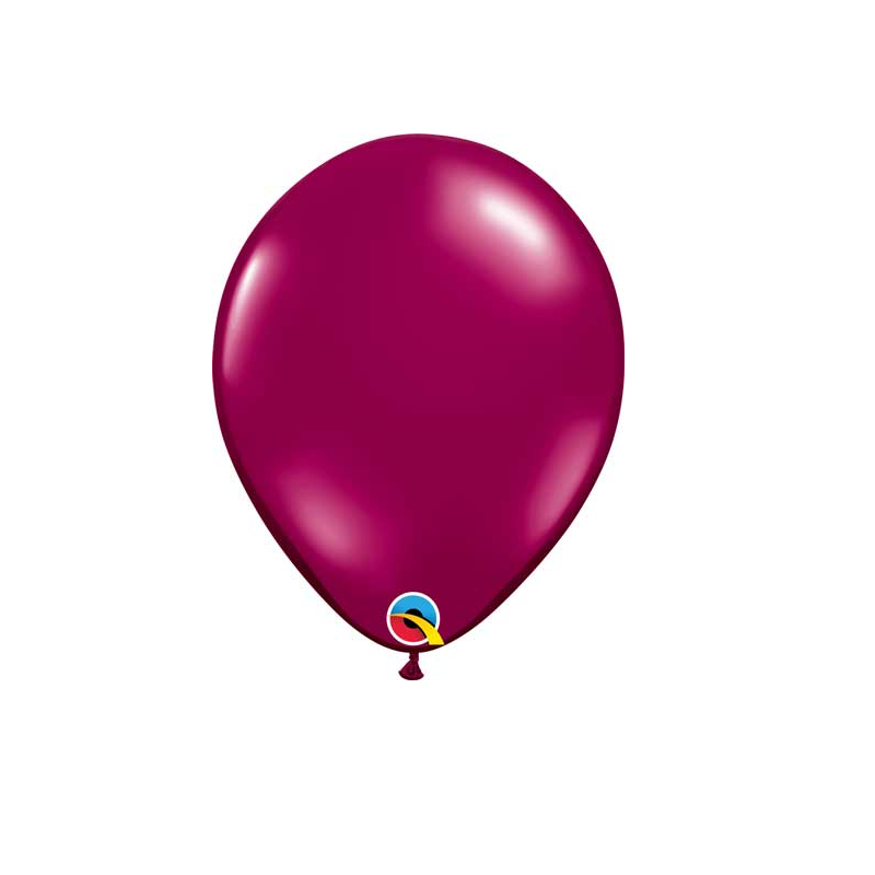 Sparkling Burgundy Balloon, 11""