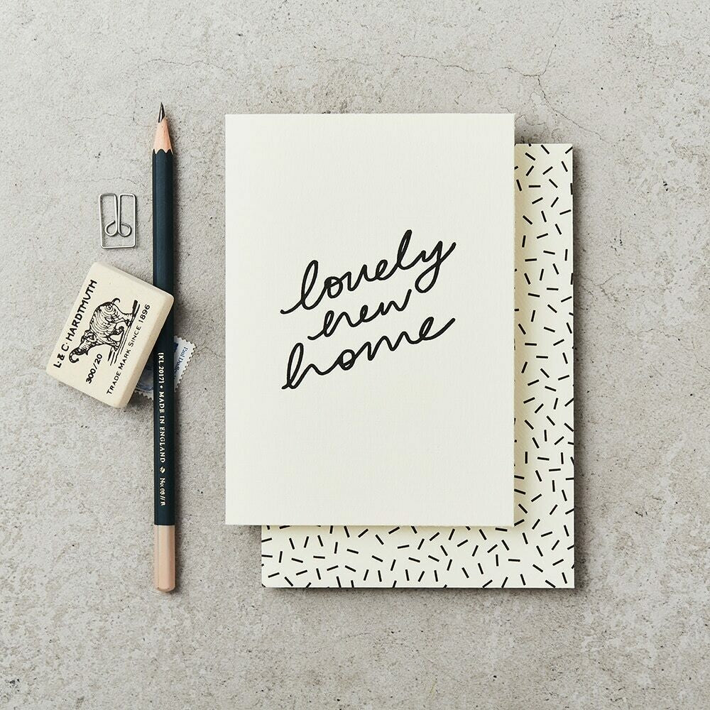 Lovely Home Card