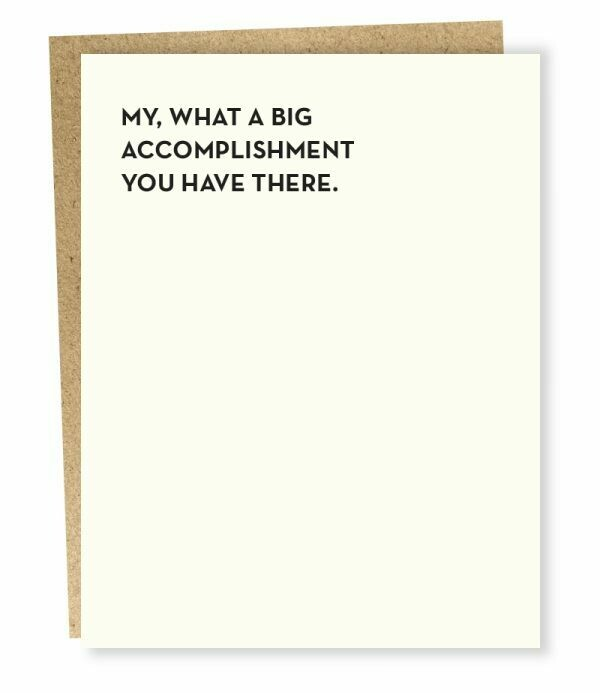 Moment of Truth Accomplishment Card