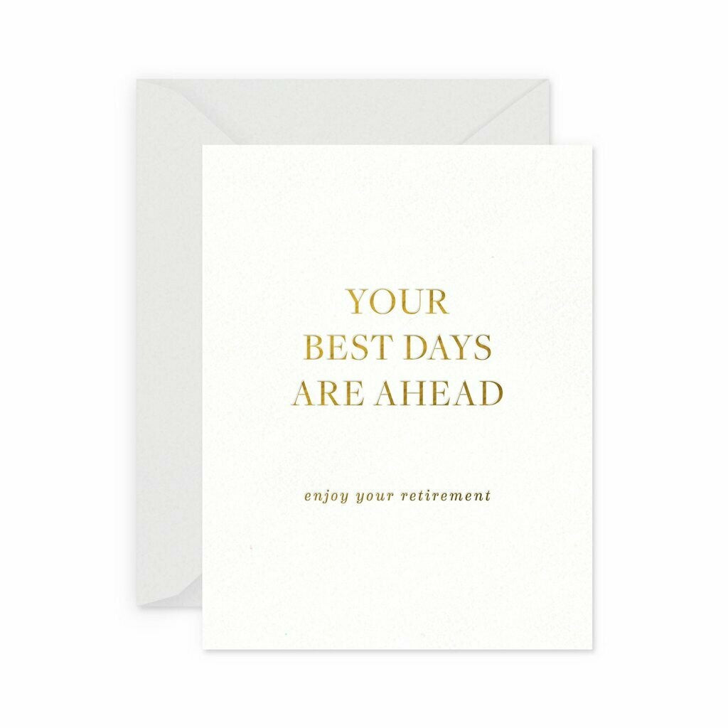 Best Retirement Greeting Card