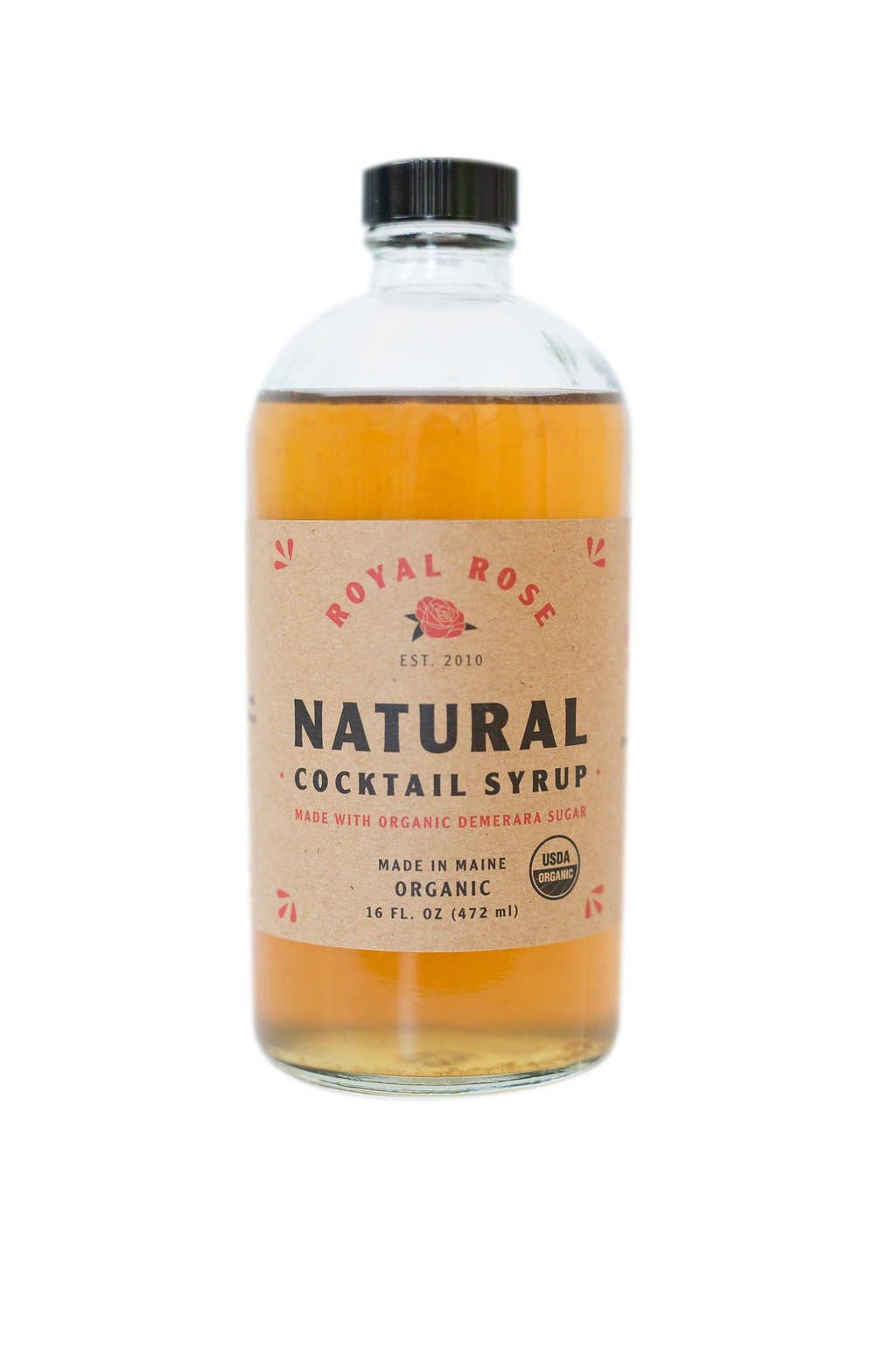 Simple Organic Cocktail Syrup 16oz