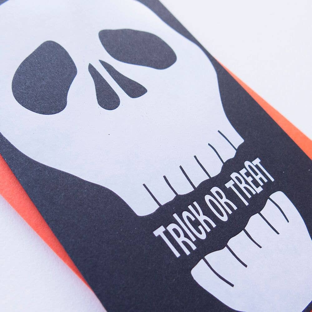 Skully Halloween Card