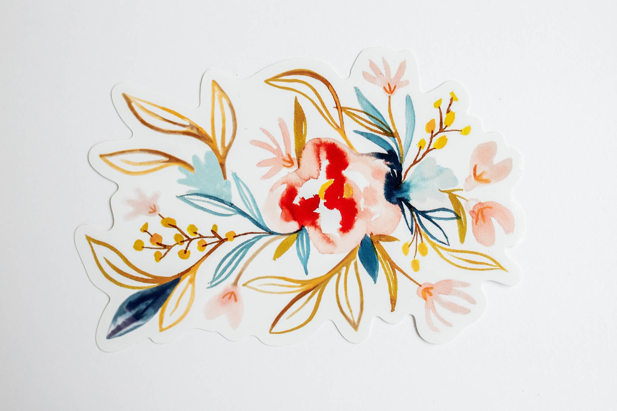 Watercolor Floral Sticker 2