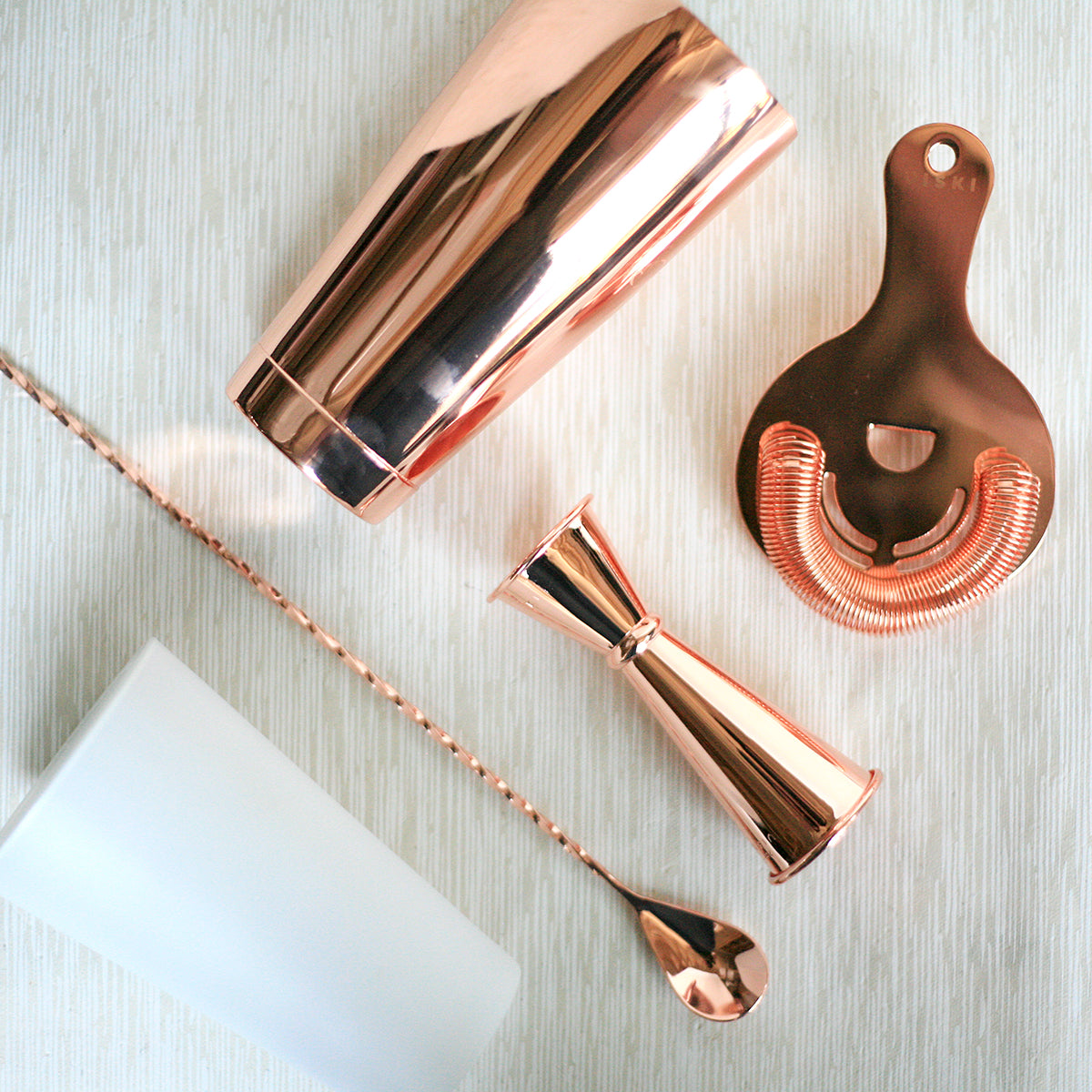 Copper Barware Basics Kit