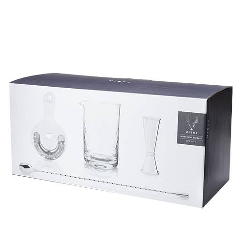 The Mixologist Barware Basics Kit