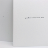 How Much Greeting Card