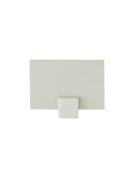 Marble Cube Place Card Holder