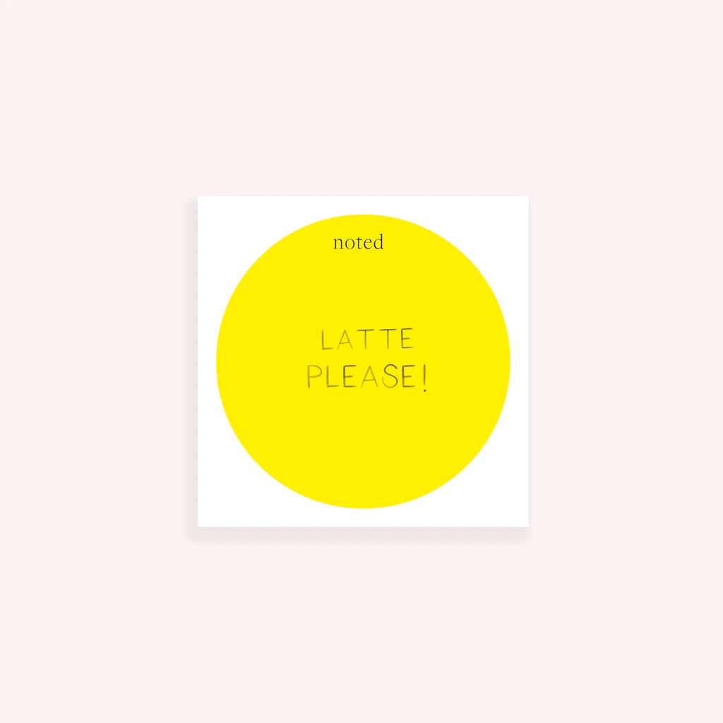 Yellow Dot Chunky Notepad