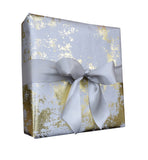 Silver and Gold Foil Marble Gift Wrap