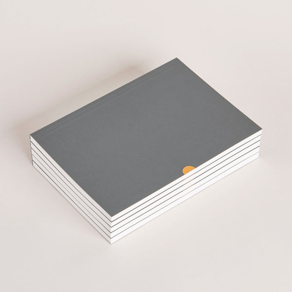 Notebook bundle.  Mark+Fold's dot grid notebook in grey. Suitable for fountain pen.
