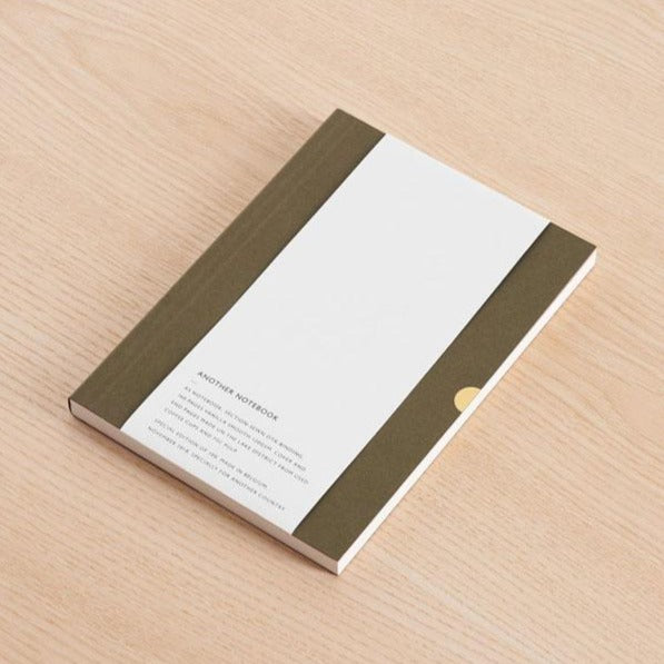 Another Notebook, a collaboration between Mark+Fold the modern stationer, and British furniture makers Another Country. Featuring Mark+Fold'd beautiful quality details, the notebook is thread-sewn and expertly bound in Belgium for a perfect layflat binding. The cover is made from post-consumer waste