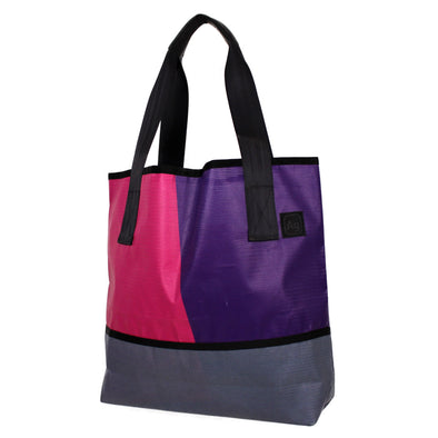 Ad Bag Upcycled Banner Tote