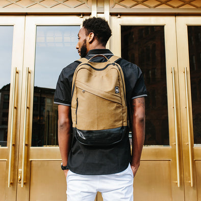 Limited Edition Denim Brooklyn Backpack