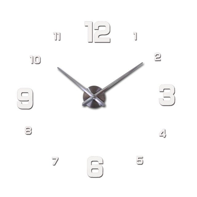 large wall clock watch 3d wall clock